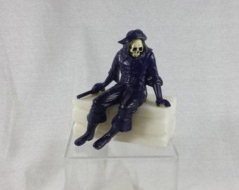 Antique Altered JB Hirsch Pirate Marble Book end