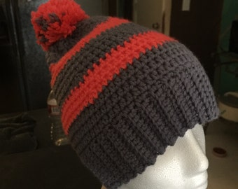 Crocheted Winter Beanie