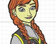 Anna machine embroidery