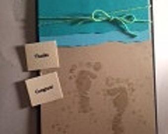 Beach Feet Greeting Card