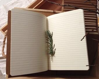 A5 Kraft Vintage Journal Memo Notebook Paper Notepad Blank Diary - DIY