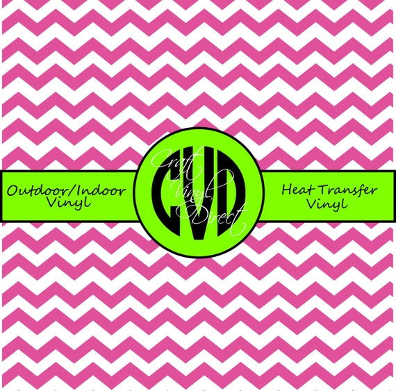 Chevron Craft and Heat Transfer Vinyl \\ Large Scale