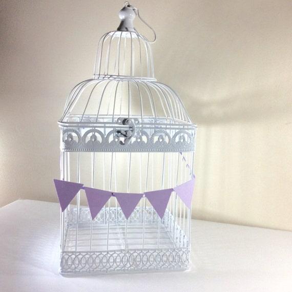 Wedding Gift Card Birdcage : Birdcage Large Gift card holder Wedding/Bridal Shower Birdcage White ...
