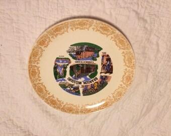 vintage BRANSON MISSOURI souvenir plate