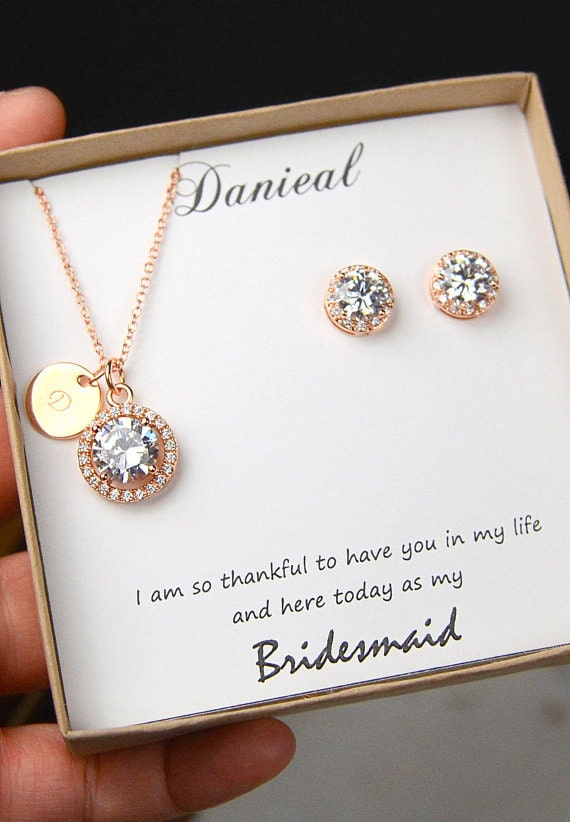 Wedding Gift Jewelry : Wedding Jewelry SetBridesmaid Gift Bridesmaid Jewelry Set