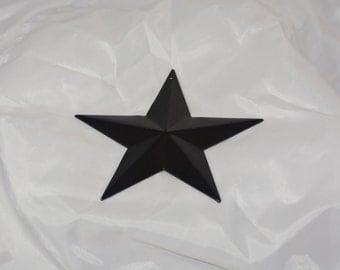 Steel Stamped Star Powder Coated