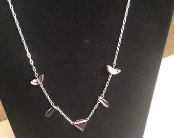 Purple Triangle Bead