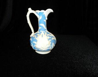 Vintage Art Nouveau Style Ewer Vase