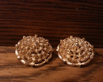 Vintage Gold Tone Corocraft Earrings