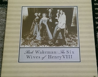 Rick Wakeman - The Six Wives Of Henry VIII - SP-4361 - 1973 - VG+