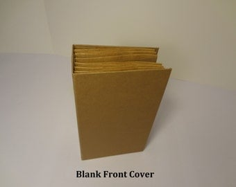 Scrapbook Mini Album; Paper Bag; Blank; Pre Constructed
