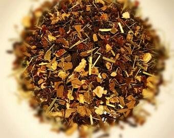 Vitamin Sea - Organic, Vitamin C Tea, Loose Leaf Tea, Herbal Tea, Rosehips, Lemongrass, Hibiscus, Cinnamon, Lemon Peel, Vitamin Boost Tea