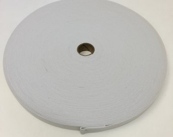 3/4 Inch White Elastic