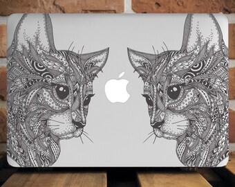 Cute Kitty Macbook Hard Case MacBook Air 11 Case MacBook Pro 13 Case Macbook Pro Case Gift For Her Mac Pro Retina 15 Case Laptop Case WCm089