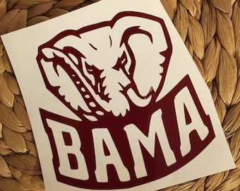 Bama Vinyl Decal