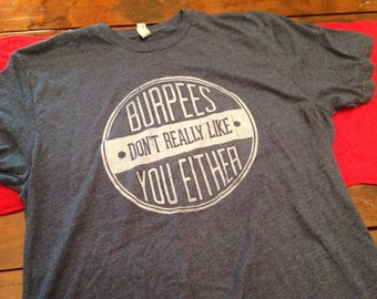 Burpee shirt -LG