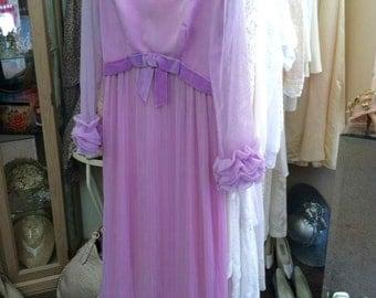 Vintage Lavender Gown