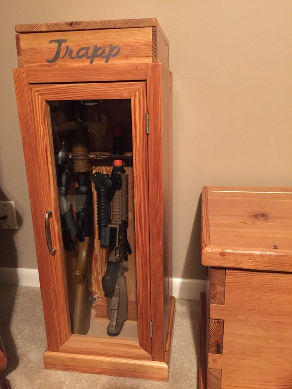 Items similar to Tiny-Tot Toy Gun Cabinet on Etsy