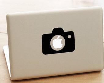 Canon Camera Decal Apple Macbook pro, birthday gift, nikon, canon