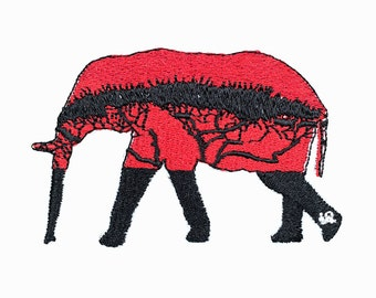 Avanna elephant Patch Iron On Patches