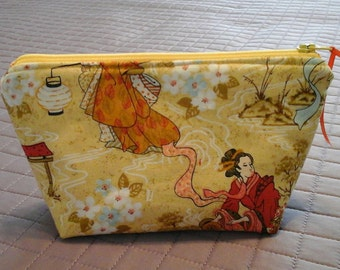 Asian inspired small pouch.