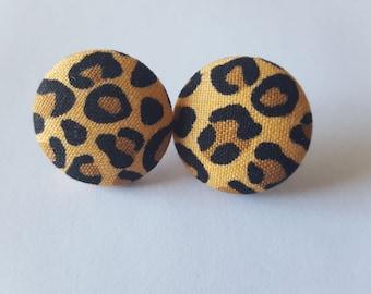 Cheetah Print Earrings
