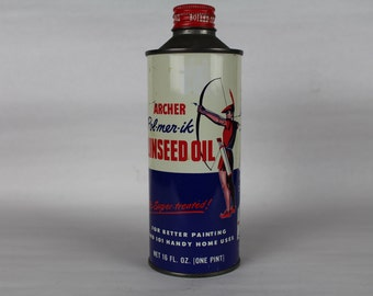 Archer Linseed Oil Tin