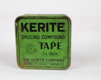 Kerite Splicing Compound Tape Tin