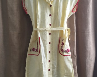 Vintage Russian Peasant style dress