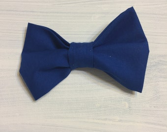 Blue Bow Tie or Hair Bow