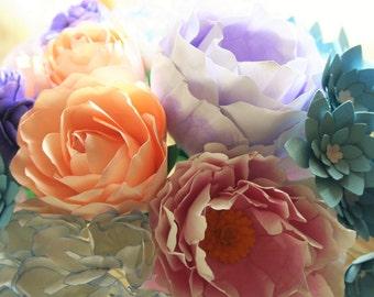 Wilhelmina - Couture paperflower bouquet