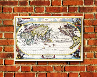 World Map Poster - #406