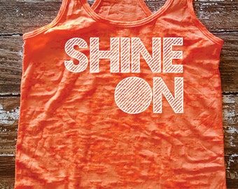 Shine burnout super soft tank