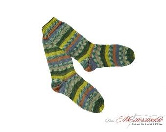 Handknitted socks size 38-39