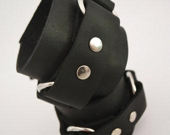 Detachable Double D-Ring Cuffs