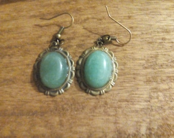 natural aventurine earrings