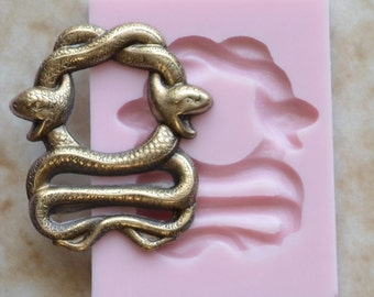 Snake Silicone Mold, Silcone, Molds Cake, Candy, Clay, Animal, Cooking, Jewelry, Farm, Chocolate, Cookies A191