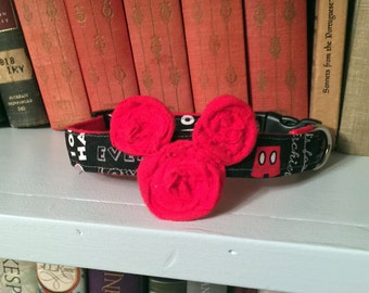 Mickey Mouse Dog Collar