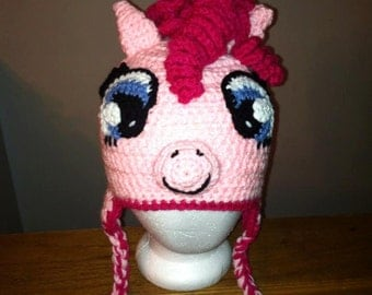 Pinky Pie Crochet hat
