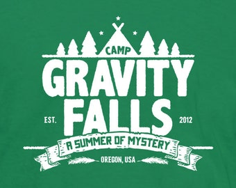 Camp Gravity Falls T-Shirt (Kids)
