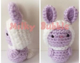 Sweet Lil' Bunny w/Bonnet Amigurumi