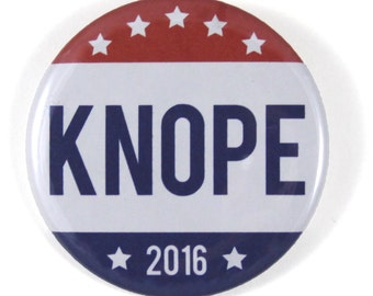 "Leslie Knope 1.5"" & 2.25"" Button"