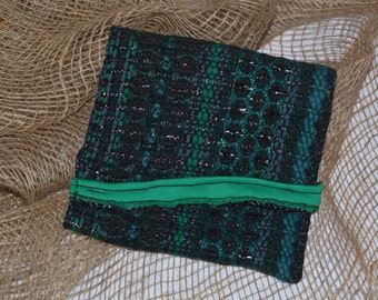 The Little Green and Black Pouch
