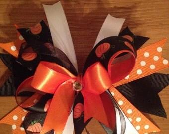 Pumpkin bow#2