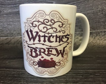 Witches brew mug Halloween