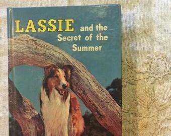 Vintage children's book lassie and the secret of summer