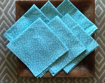 Handmade, Reusable, Washable, Cotton Napkins