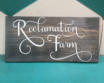 Custom farm sign (this is just an example) PICK UP ONLY