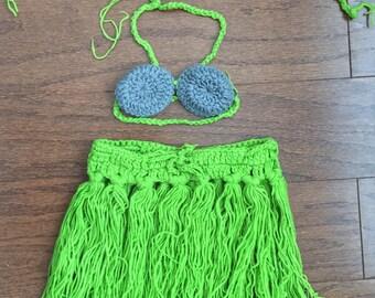 Crochet hula skirt Etsy