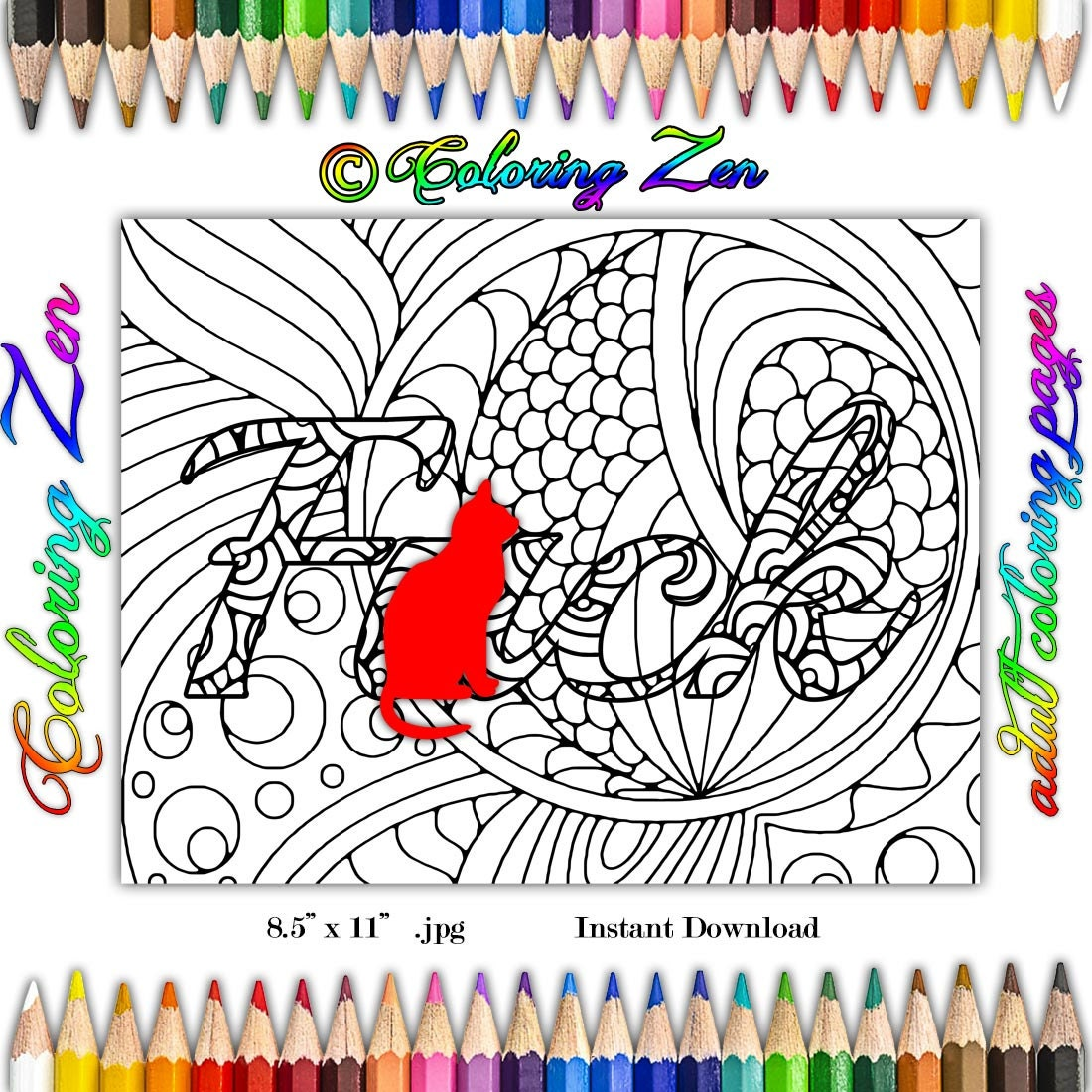 Swearing colouring in book nz - F Ck 1 Coloring Page Swearing Coloring Pages For Adults Sweary Color Therapy Stress Relief Meditative Coloring Grown Up Coloring